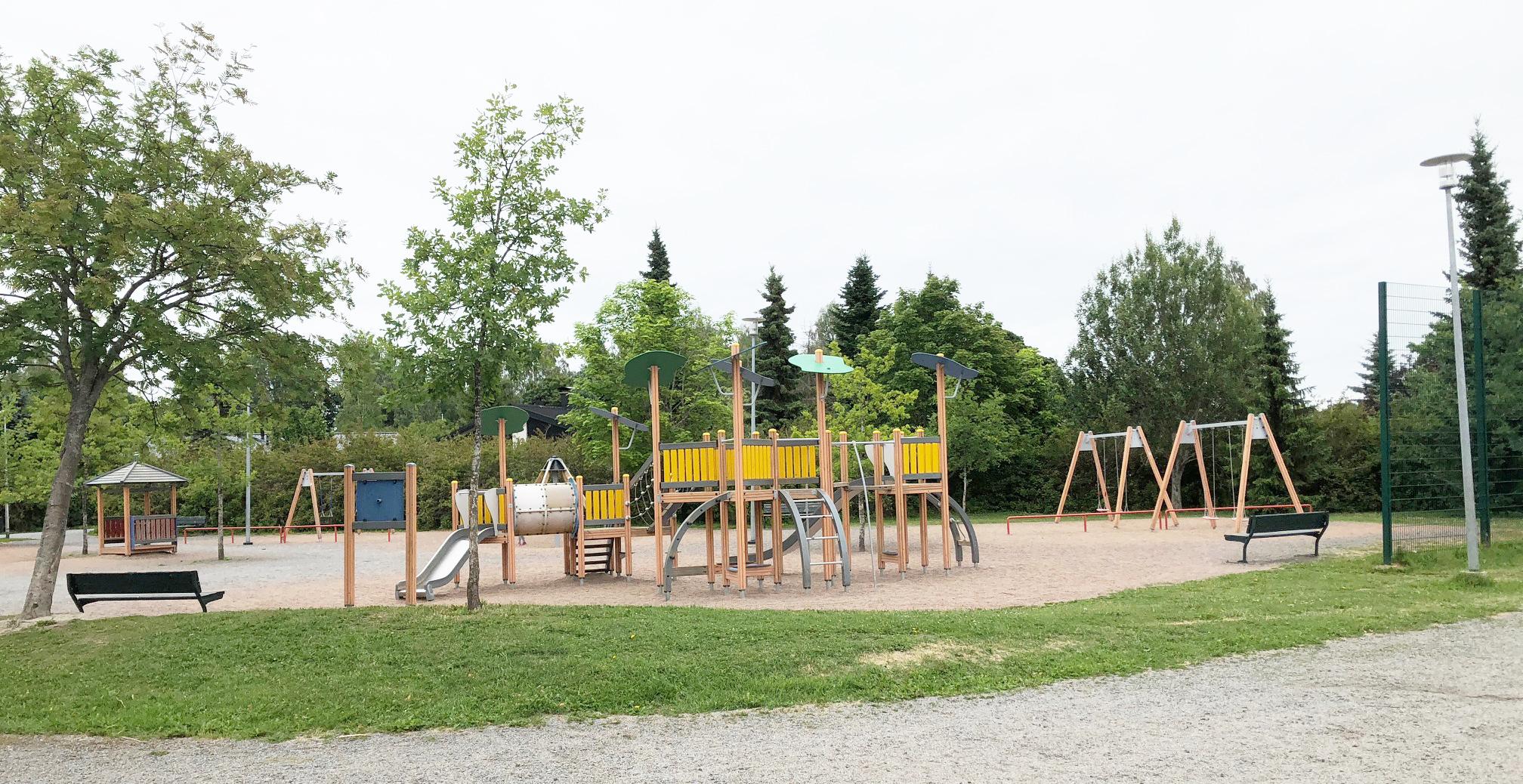 Nokian leikkipuistot: Kravinpuisto Viholassa