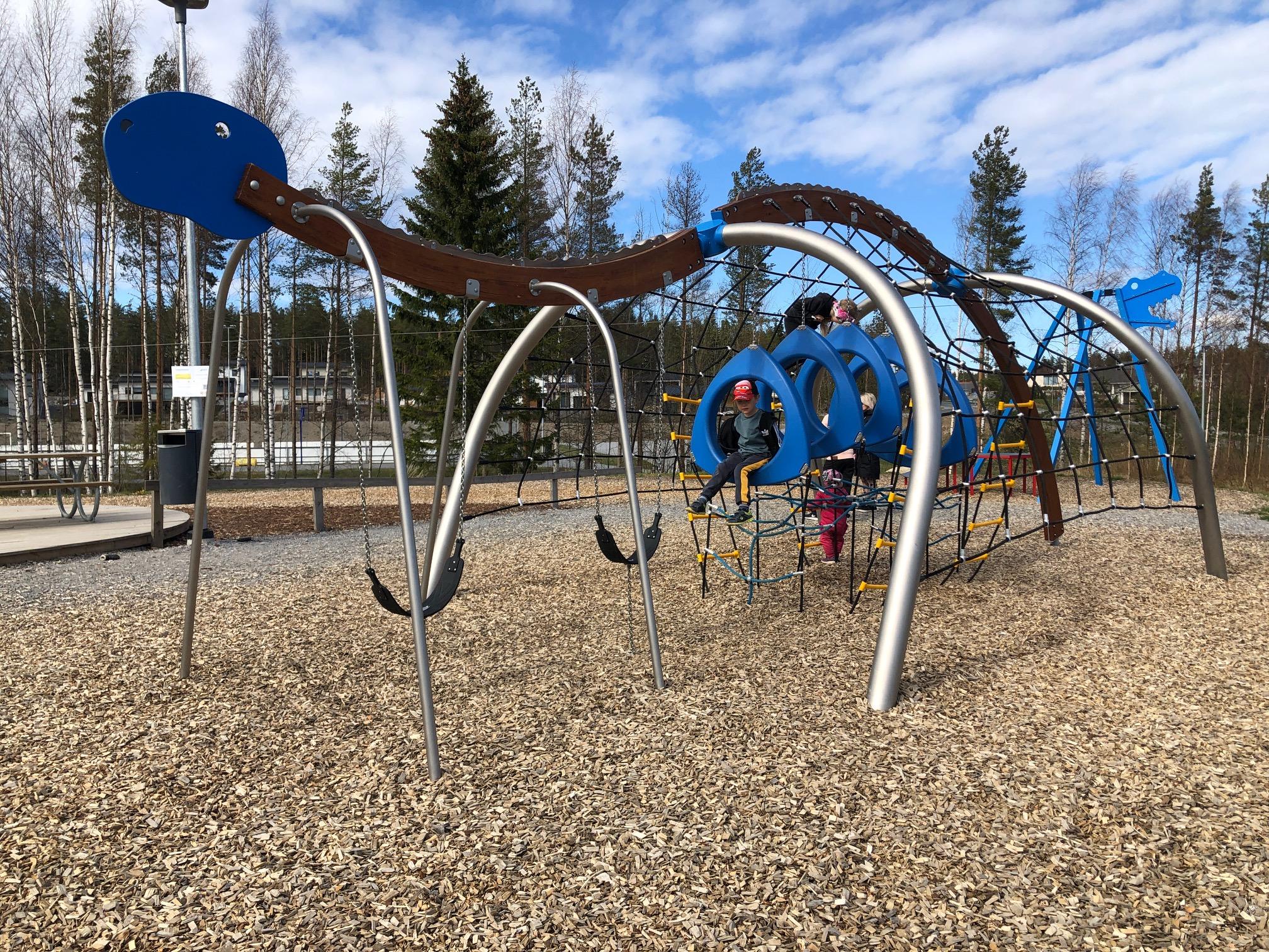 Nokian leikkipuistot: Tuurenpuisto Harjuniityssä